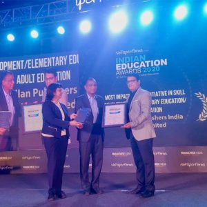 Most Impactful PPP initiative in Skill Development/Elementary Education/Adult Education – 10th India Education Congress and Awards 2020
