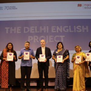 """Macmillan Education India adds yet another feather to its cap. Proud to be a part of """"Spoken English Programme"""" by Directorate of Education, Delhi."""